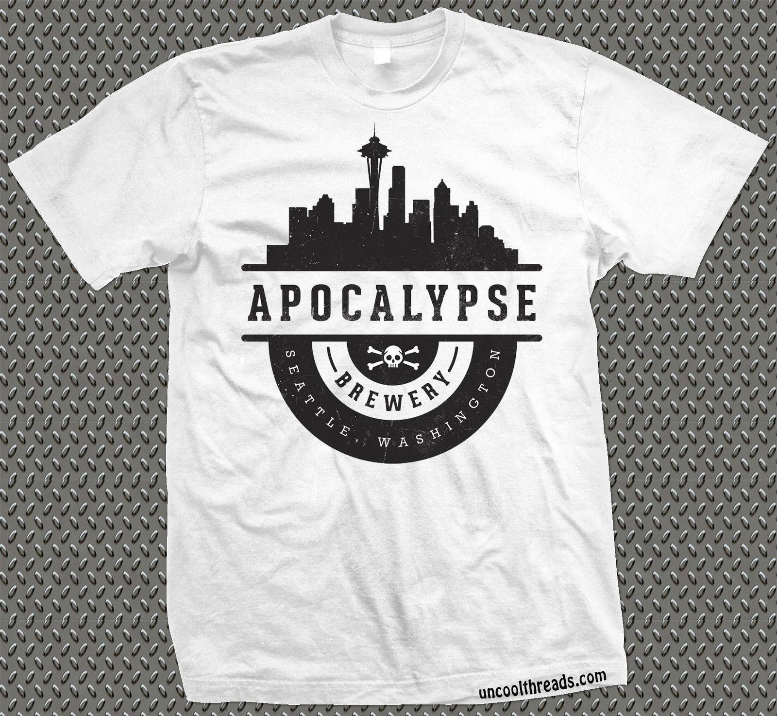 Apocalypse Brewery Washington Brewing Company Beer T Shirt Ascot