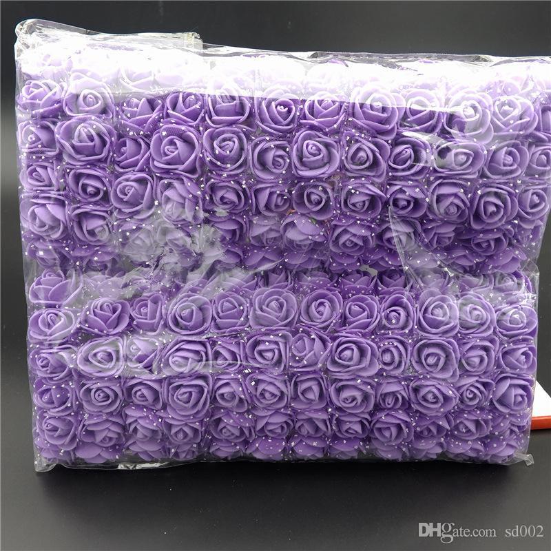 Simulation Mousse Fleur Mini Rose Artificielle Maison De Mariage Décorations De Voitures Multi Couleur 5 39lb C R