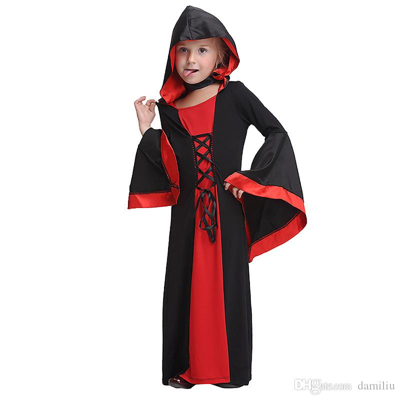 2018 halloween costume baby girl cosplay vampire bloodsucker dress lovely girl princess dress kid dresses for girls from damiliu 1588 dhgatecom