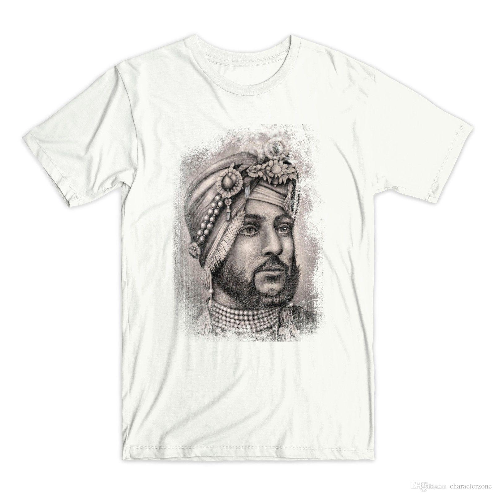 a9afd876 Maharaja Duleep Singh T Shirt Sikh Empire Indian Punjab Cool Tee Shirt  Designs Buy Cool T Shirts Online From Characterzone, $10.5| DHgate.Com