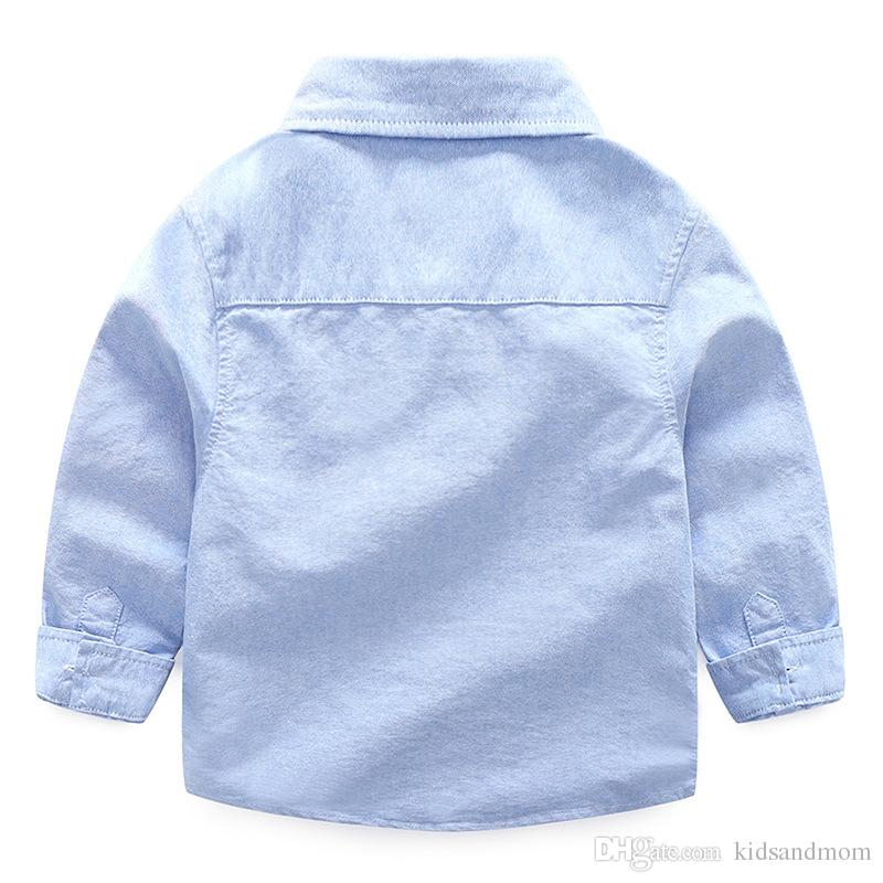 Boutique Oxford boys shirts pure cotton power machine printedtop quality kids clothing wholesale cheap China 90-100-110-120-130