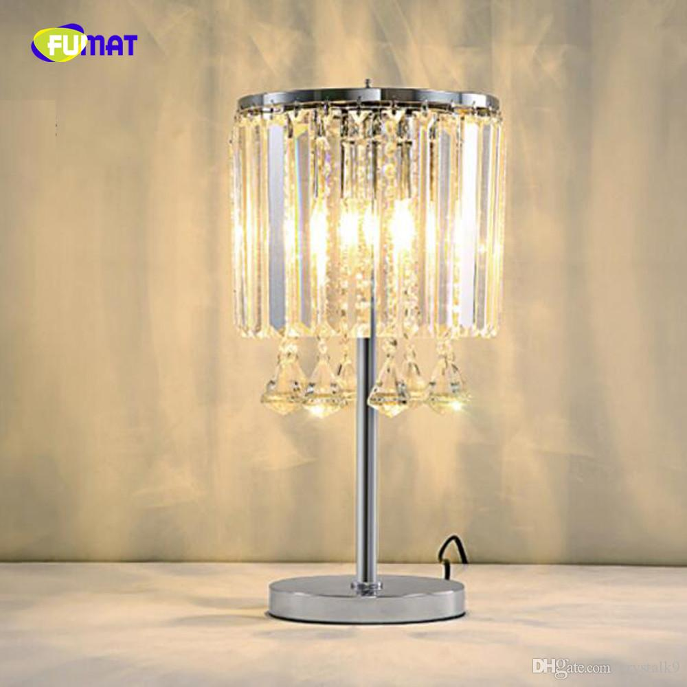 New design crystal table light modern table lamps Dia26*H47cm lustre  cristal living room bedroom lighting