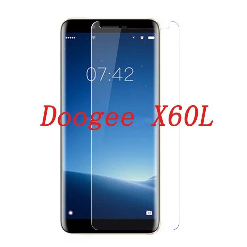 2ad446847 Protectores De Pantallas Para Celulares Vidrio Templado De Smartphone Para  Doogee X60L 9H Funda De Protección De Pantalla Protectora A Prueba De  Explosiones ...