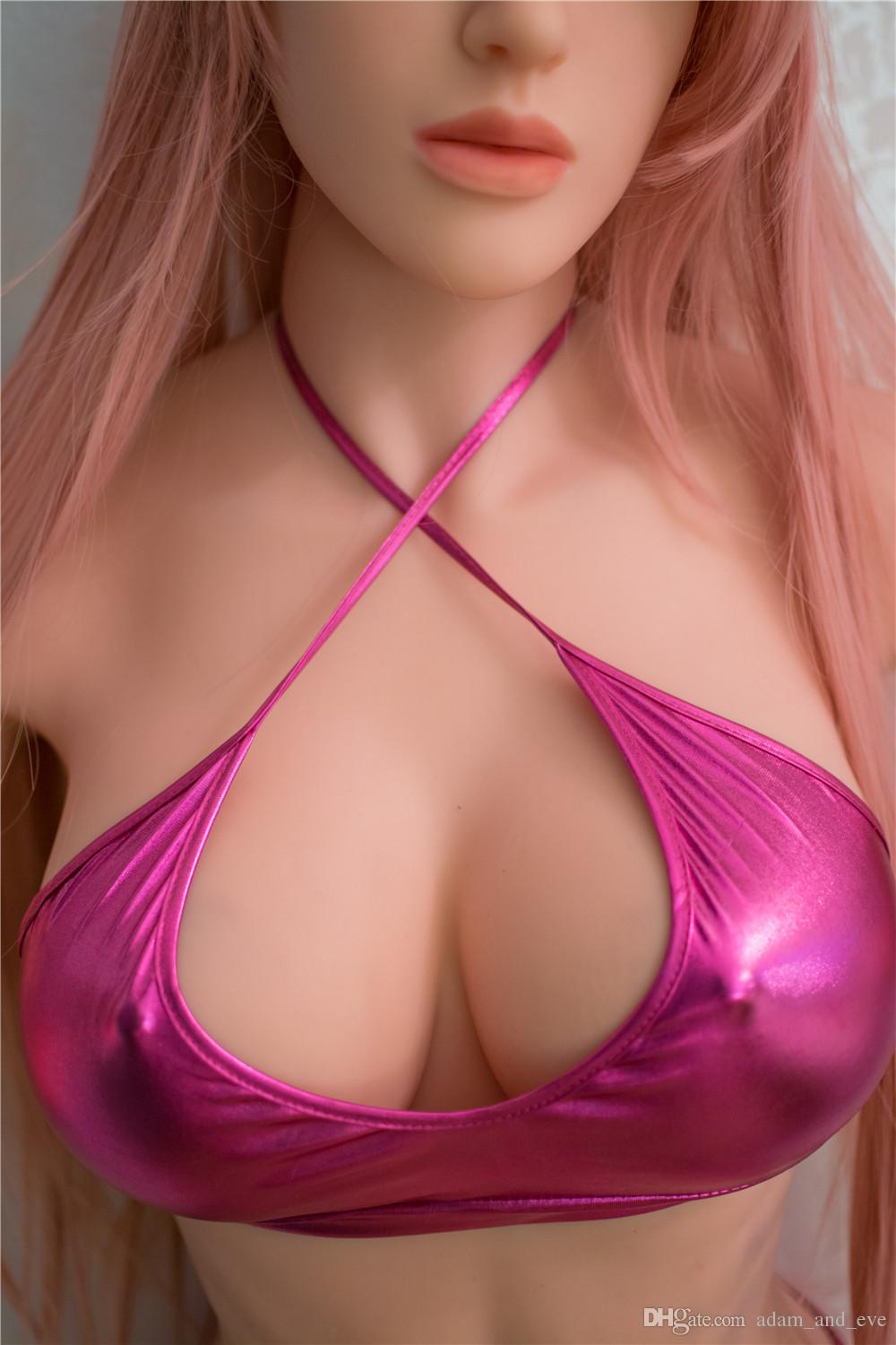 168cm Full Silicone Sex Doll Metal Skeleton Real Love Doll Full Body Sex Dolls with Anal Vagina Oral Hole Sex Toys for Men