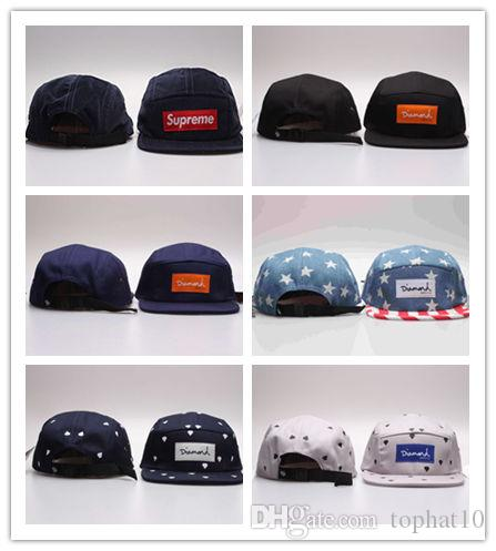 e8b125a77d9 Cheap Discount Price DIAMOND 5 Panel Hats Snapback Pierce Caps Adjustable  BaSeball Snap Back Snapbacks Players Sports Cap Hat Snapback Online with ...