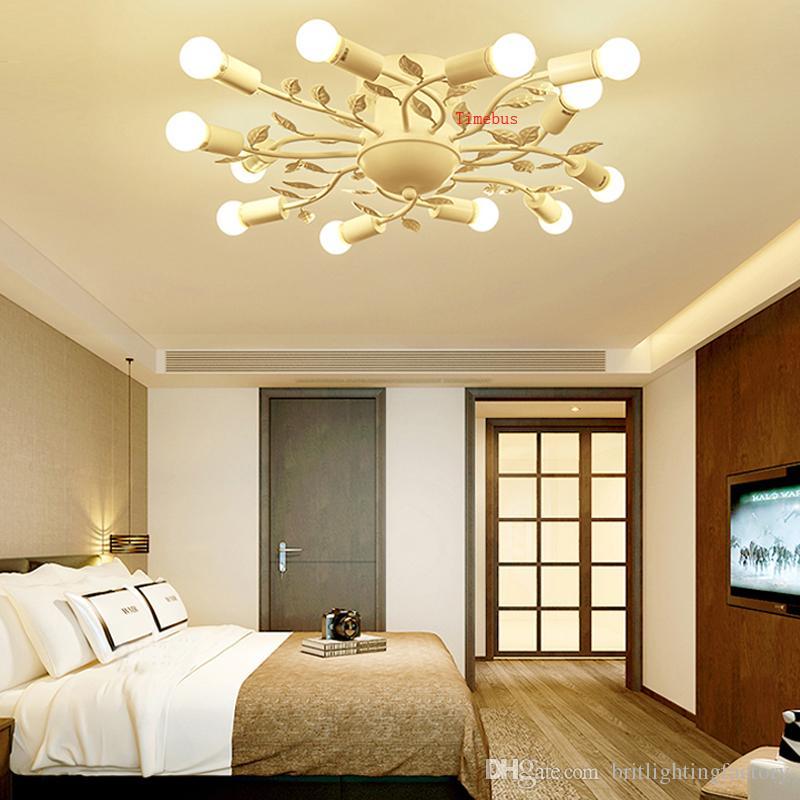 Schlafzimmer Lampe warm LED Deckenleuchte kreative Persönlichkeit  Wohnzimmer Deckenleuchte einfache moderne Restaurant Lampen und Laternen