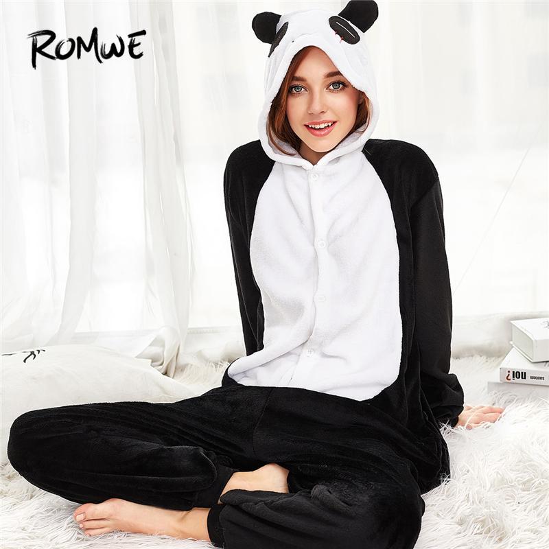 Купить Оптом 20188 Romwe Черно Белая Пижама Женская Пижама Для ... a57c275ce7a8c