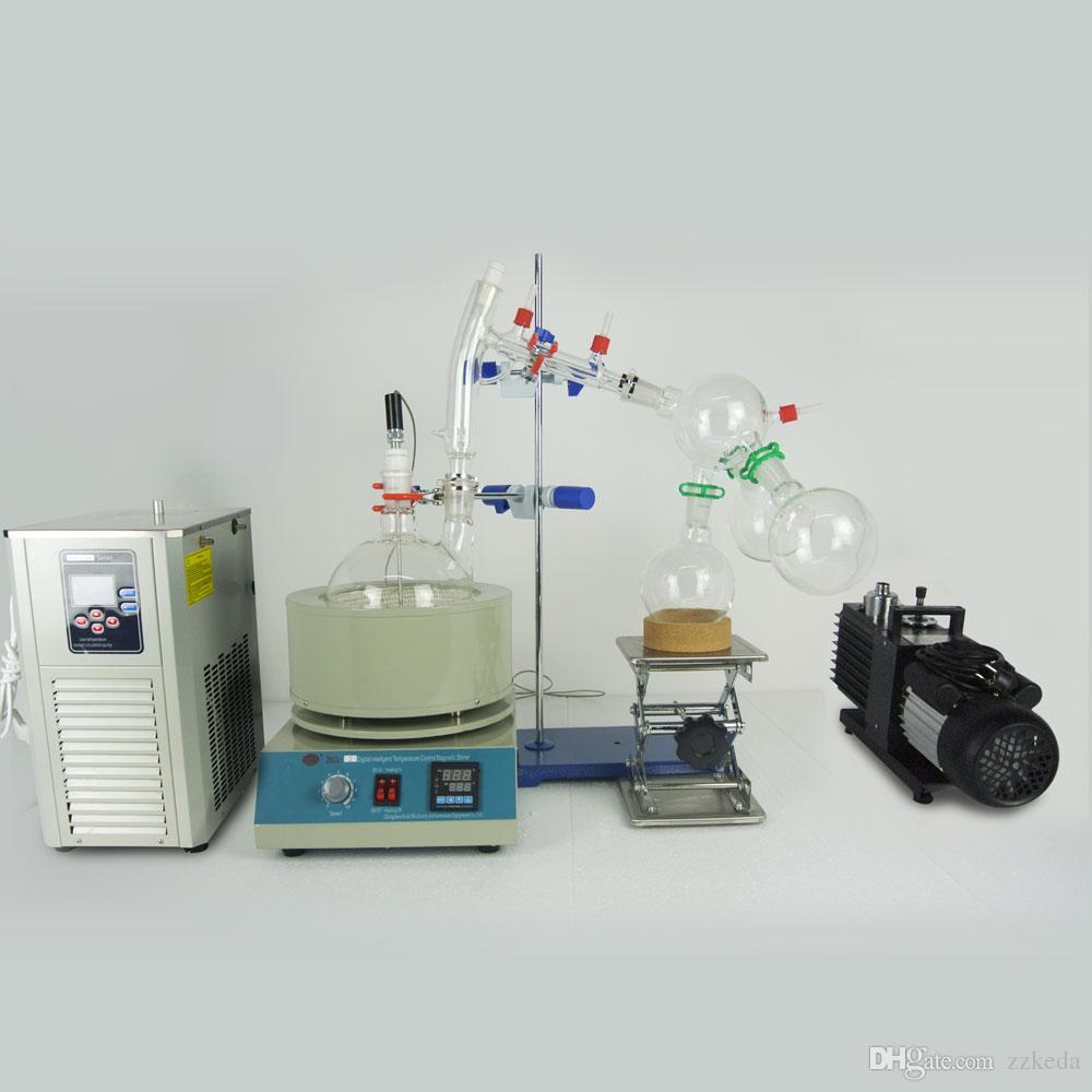 Lab Scale Small Short Path Distillation Equipment 2L Short Path ...