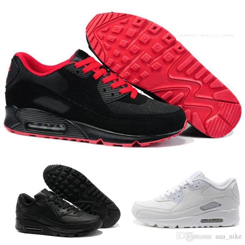 Nike Air Max 87 Descuento grande Venta caliente Hombres Zapatillas Zapatos Classic 90 Hombres Zapatillas Running Venta al por mayor Envío de la gota