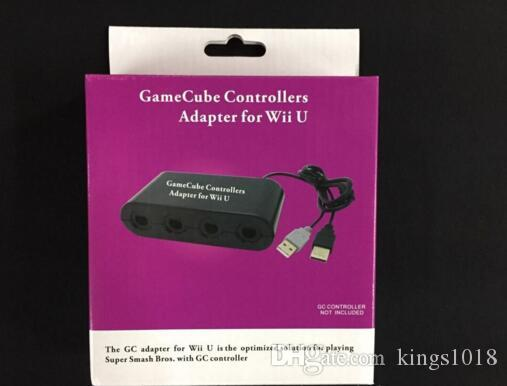 Hot Sale 4 Ports Replacement Gamecube Game Controller Adapter