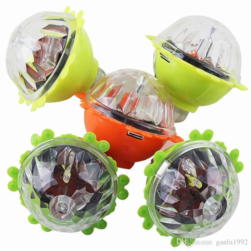 Whirling Children Novelty Lace Scopperil Inertia Flash Of Light Rotate Gyro Toy At Full Speed Friction Luminescent Gyroscope 1 25sk W