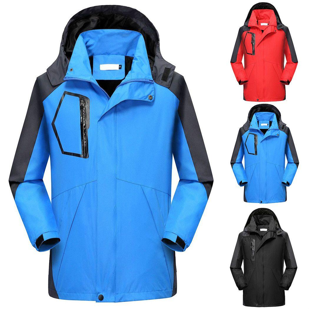 0c721be5b56 Autumn Winter Unisex Men Women Waterproof Jackets Camping Hiking Jackets  Hunting Climbing Wind Rain Fishing Windbreaker Jackets Cheap Jackets Autumn  Winter ...