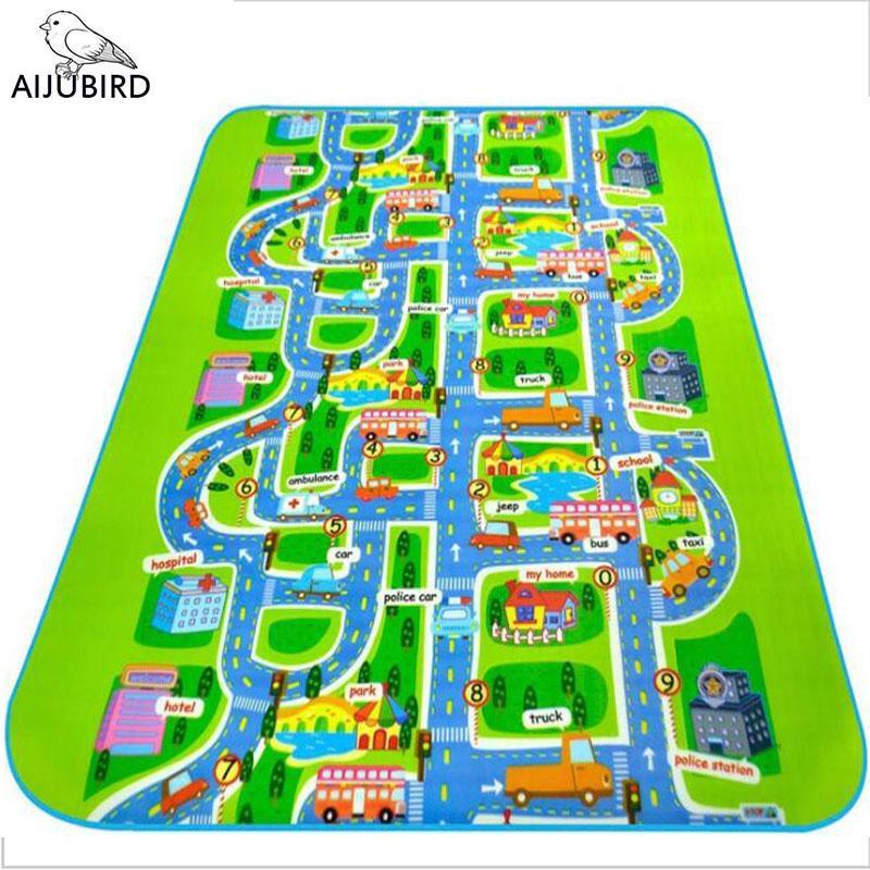 Acheter Ville Route Tapis Jouets Pour Enfants Tapis Bébé Tapis De ...