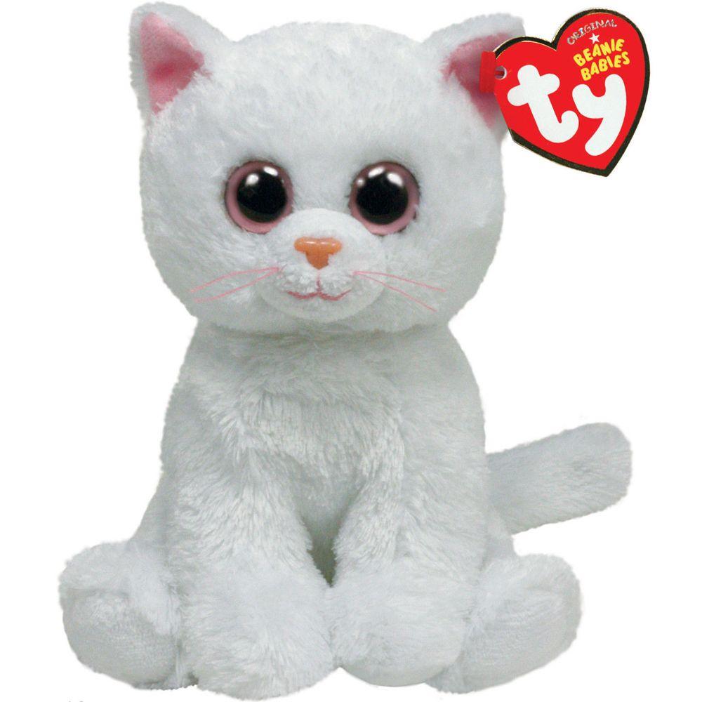 2019 Ty Beanie Babies 6 15cm Bianca The White Cat Plush Regular