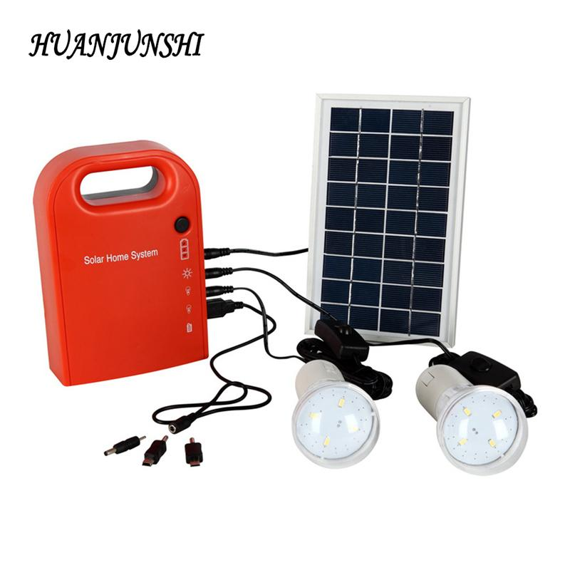 2018 solar panel home lighting system outdoor camping solar led