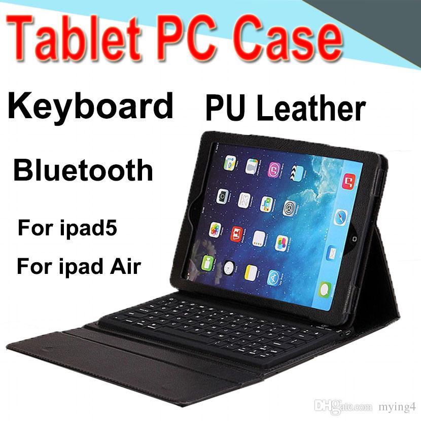 3afdd7a14b5 Compre Teclado Funda Para Tableta PU De Cuero 10 Pulgadas Inalámbrico  Bluetooth 3.0 Funda Con Tapa Cubierta De Soporte Impermeable DropResistance  Anti Dust ...