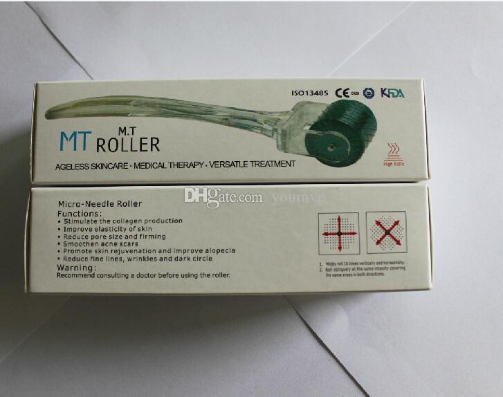 MT Derma Roller 192 Micro Aguja Derma Rodillo para el cuidado de la piel para la arruga acné cicatriz de círculo oscuro