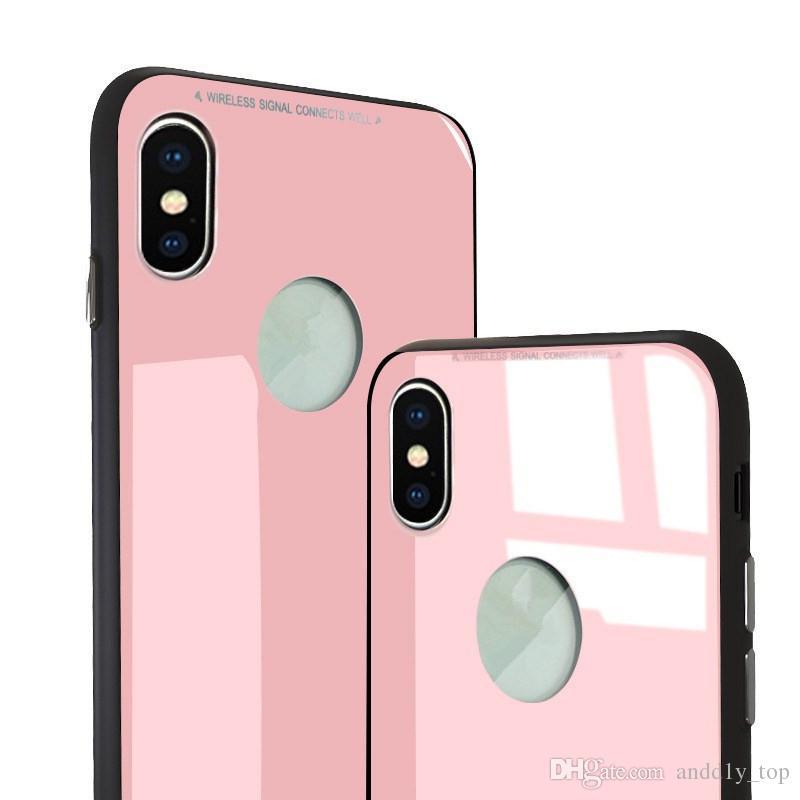 0.8 мм закаленное стекло высокое качество чехол для телефона iphone x TPU мягкий внутренний чехол крышка телефона противоударный телефон протектор