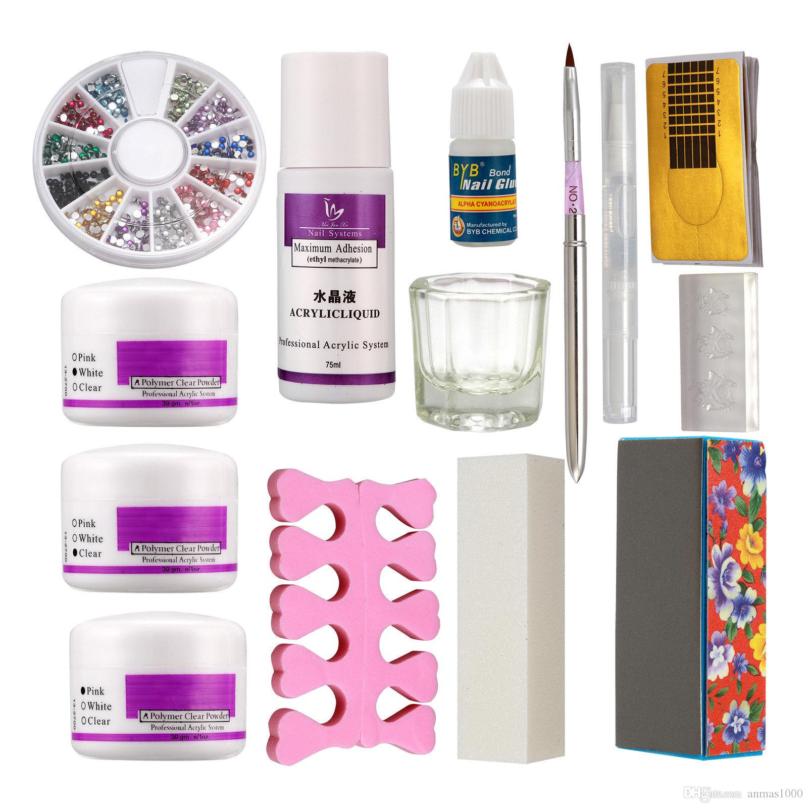 Hot Sale !!!! Pro Acrylic Liquid Primer Nail Art Glue Powder ...