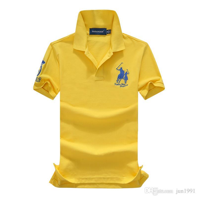 Colour 2017 Summer Embroidery Polo Shirt Men S Short Sleeve Polos