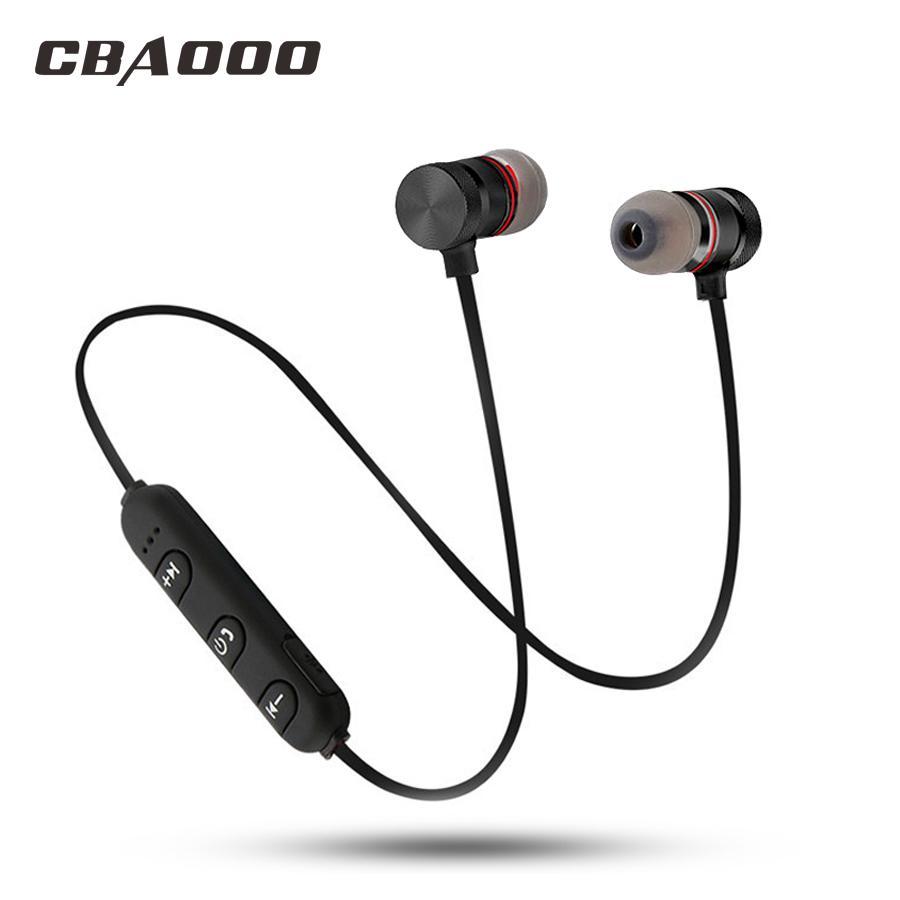 Acquista CBAOOO C40 Auricolare Bluetooth Sport Auricolare Senza Fili Con  Microfono Magnetico Hifi Stereo Auricolari Bassi Auricolari Telefono  Auriculares A ... a21651b40d3a