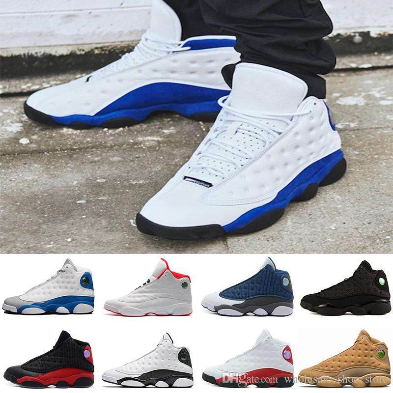 b74e03b5ea3c New Arrive Fashion 13 Hyper Royal GS Italy Blue Olive Men Basketball ...