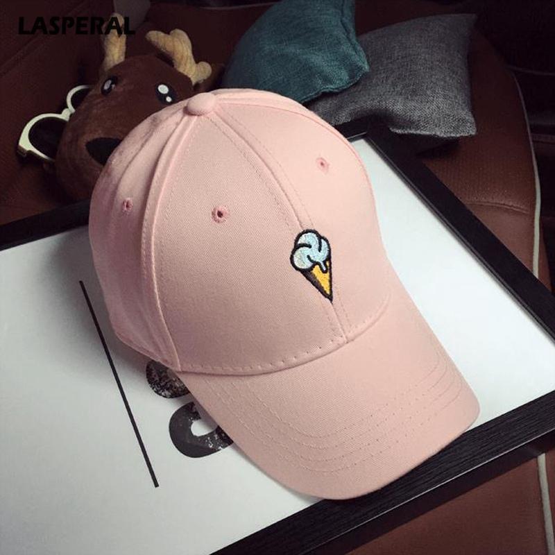 6243ebaff1086c LASPERAL Fashion Baseball Cap Women Men Adjustable Hats Peaked Hat HipHop  Strapback Snapback Cream Baseball Cap Boy Girl Lids Hats Visors From  Desertrose, ...