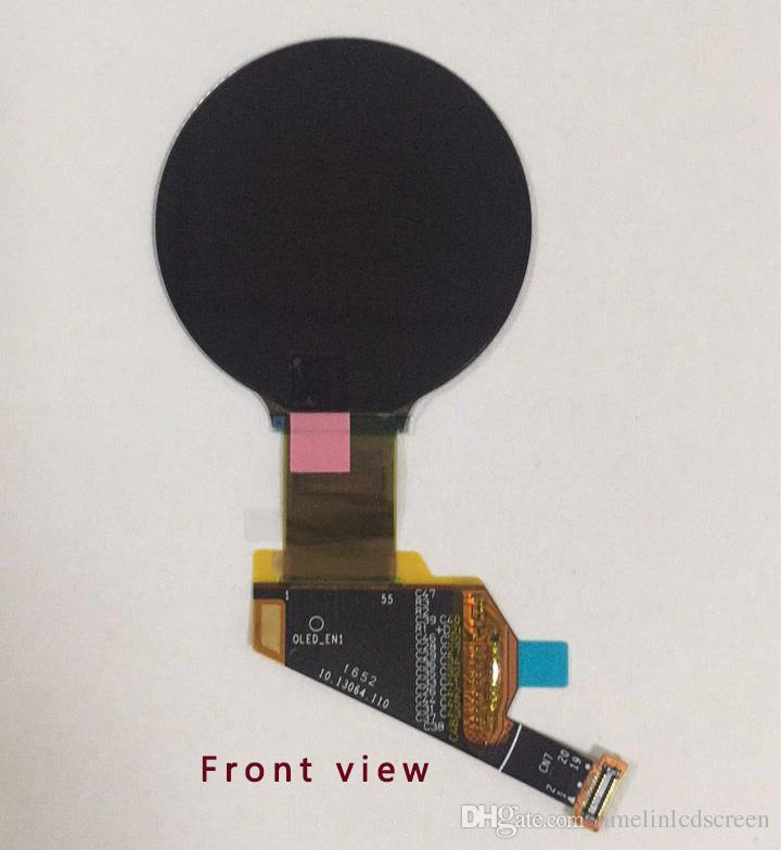 Display LCD OLED a schermo rotondo piccolo da 1,49 pollici con risoluzione 400 * 400 con interfaccia MIPI emessa dalla produzione del pannello di amelina