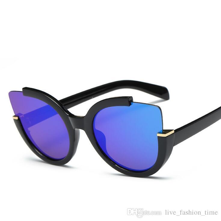 d0368506d10 Vintage Sunglasses Women Cat Eye Luxury Brand Designer Sun Glasses Retro  Ladies Cateye Sunglass Black Shades Top Fashion Eyewear UV400 Online  Eyeglasses ...