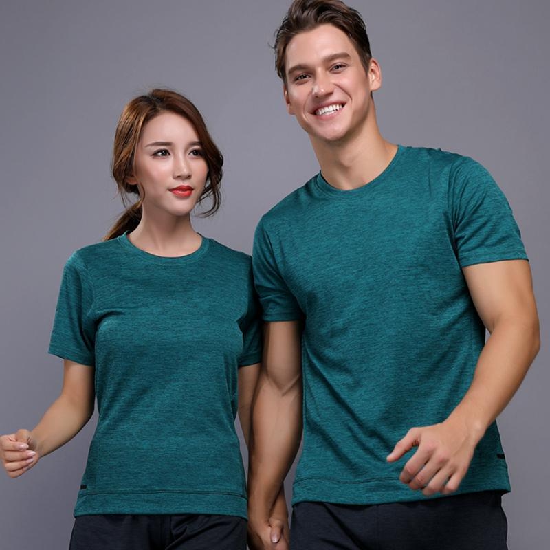 Laufen Shirts Männer Frauen Kinder Kurzarm Sport Gym Crossfit Fitness Reflektierende Druck Training T-shirt Jogging Sweat Shirt Sportbekleidung
