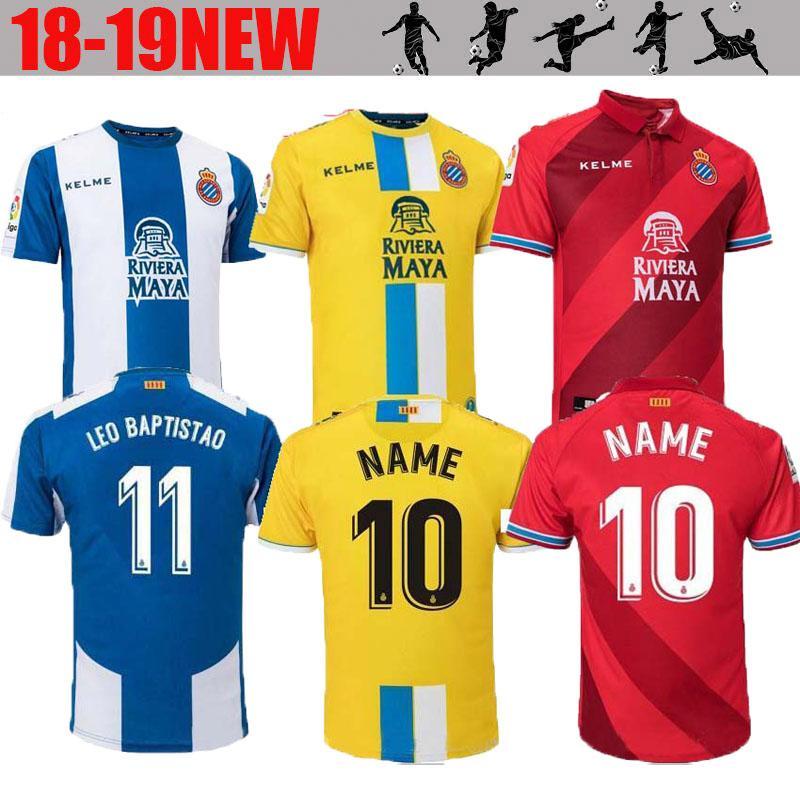 2018 19 RCD Espanyol Soccer Jerseys Futbol Camisetas Real Club ... 52ea5ae88a889