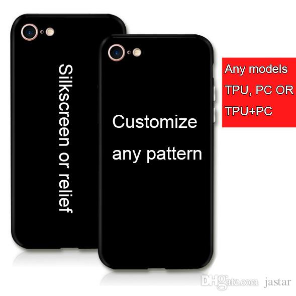 customize phone cases shell cell phone case any models silkscreen