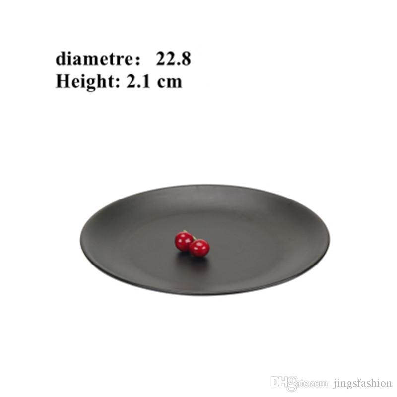 Wholesale Round Dinner Plates 22.8cm Black Melamine Plates Sushi Dishes For Hotel Restaurant Customized Dishes-058 Melamine Plates Dishes For Hotel ...  sc 1 st  DHgate.com & Wholesale Round Dinner Plates 22.8cm Black Melamine Plates Sushi ...