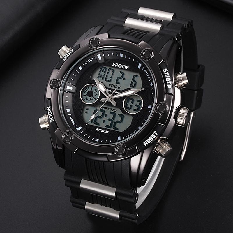 Top Marke Digitale Uhr Männer Elektronische Handgelenk Uhren Gummi Led Sport Uhr Relogio Masculino Digitale Männlichen Uhr Erkek Saat Uhren Digitale Uhren