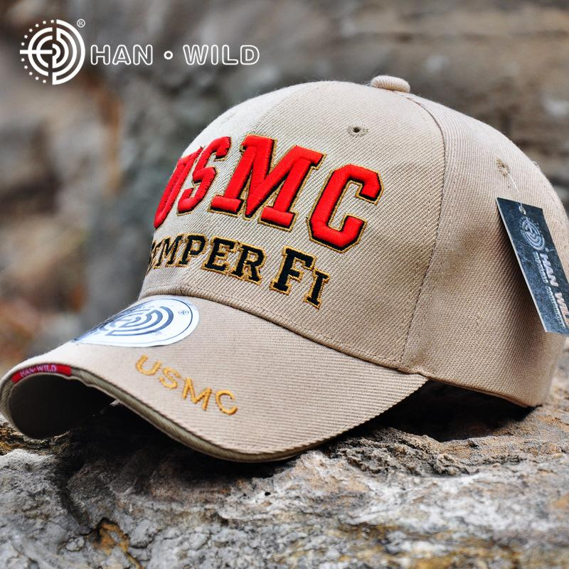 2b6b2aca31 New Arrive US Marine Tactical Baseball Cap Men USMC Navy Snapback Hat  SEMPER FI Bone Adjustable Outdoor Cotton Army Baseball Hat Flexfit Hats For  Men From ...