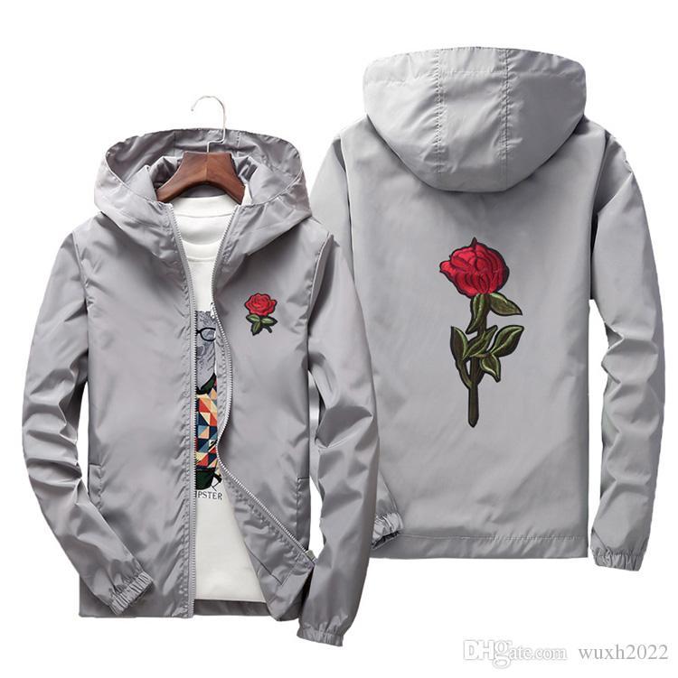 Drop Shipping neue Jacke Windbreaker Männer Frauen Jaqueta Masculina College Jacken Designer Jacke