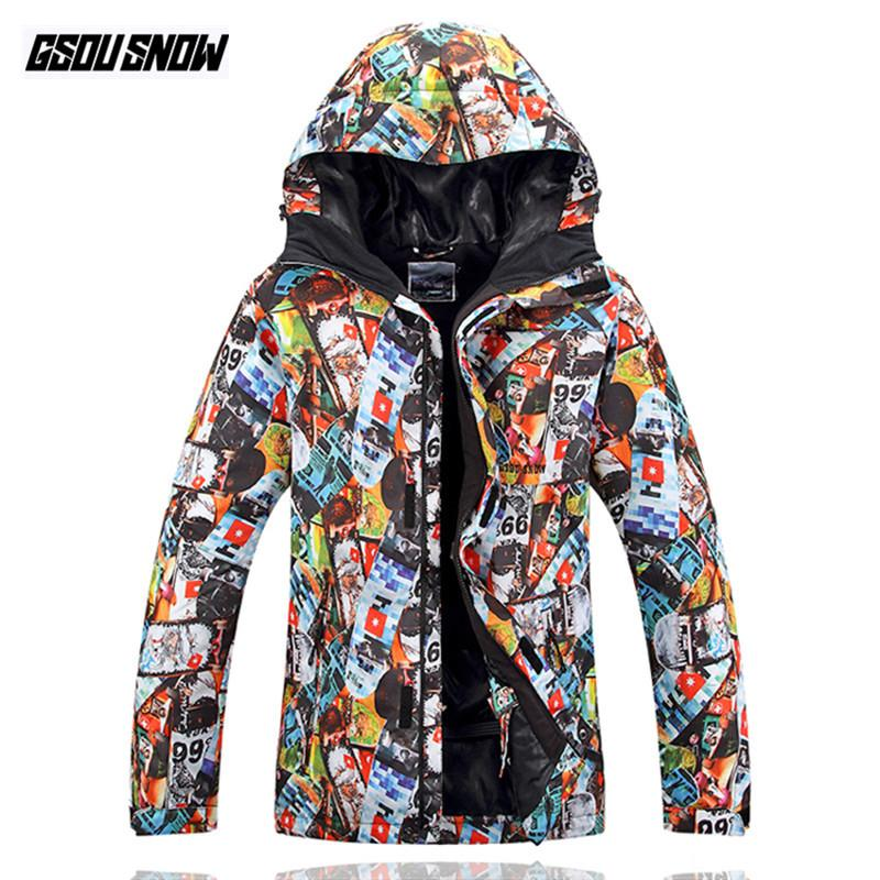 915910affe 2019 GSOU SNOW Brand Ski Jackets Men Snowboard Suits Waterproof Breathable Skiing  Jackets Pants Snowboarding Clothing Male Sport Coat From Dragonfruit