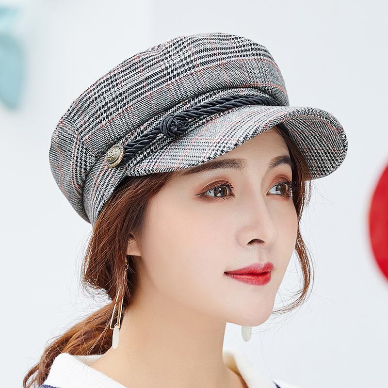 6825d847bf9e7f 2019 Newsboy Cap Beret Female Male Flat Cap Autumn Winter Hats For Women Men  Octagonal Painter Hat Vintage England Artist From Value111, $40.94 |  DHgate.Com