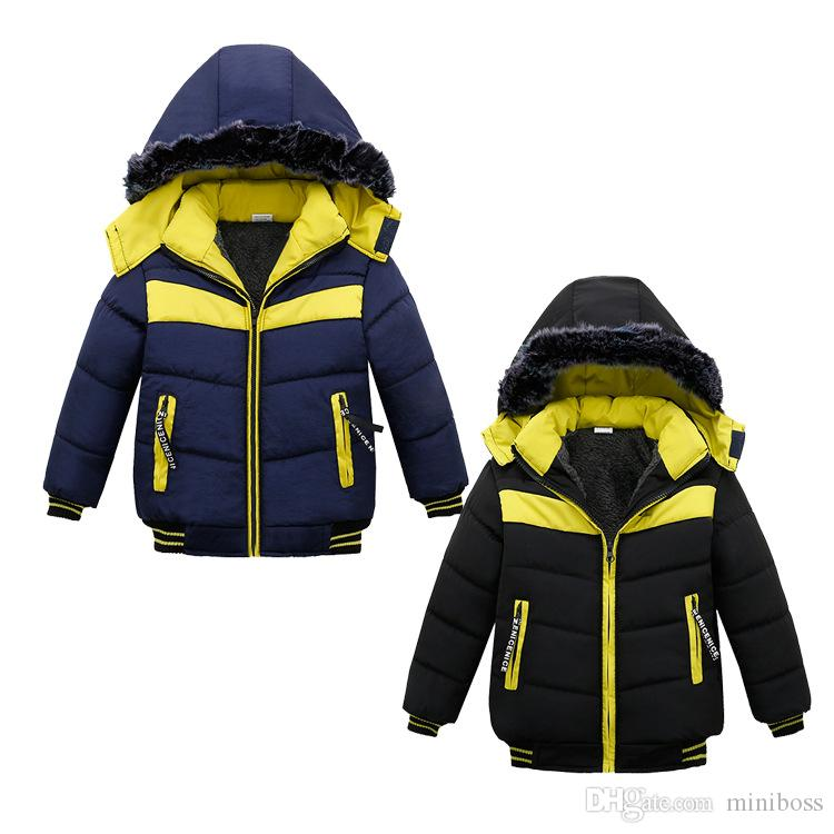 706a8bedf Baby Boys Jacket 2018 New Arrival Autumn Winter Jacket Coat Kids ...