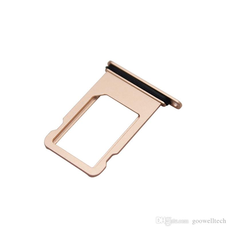 New SIM Card Tray Slot Holder Adapter For iphone 8 8 plus 8plus X Replacement Mobile Phones Accessories