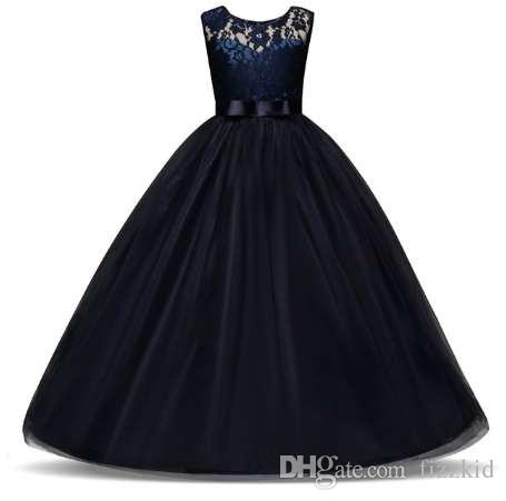 b4f9ed5006d 2019 Teenage Girl Dresses Long Formal Prom Gown For Kids Girls Clothing  Wedding Party Tutu Dress Christmas Party Children Clothes From Fizzkid, ...