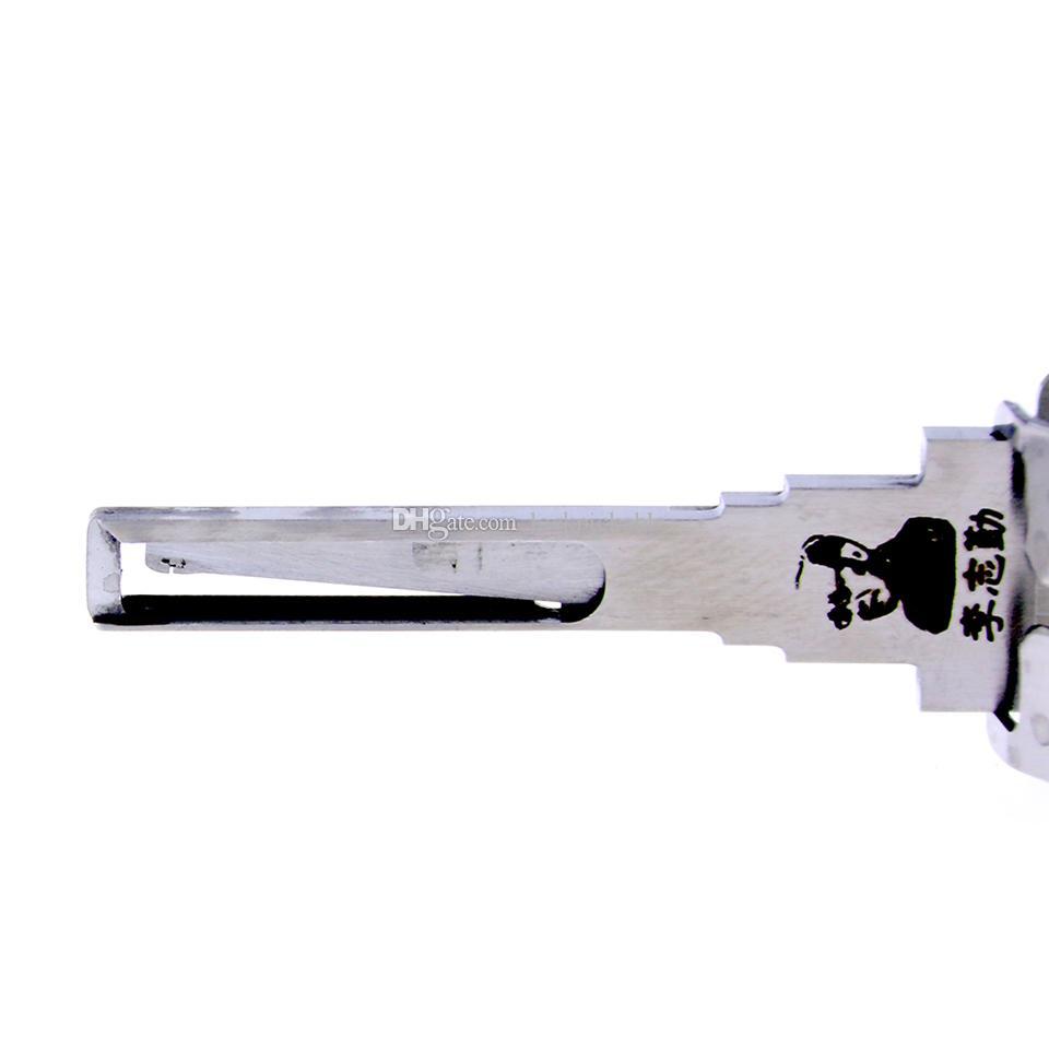Original Lishi HU100 V.3 2en1 décodeur et Pick de M. Li - meilleurs verrous automobiles débloquent des outils sur le marché