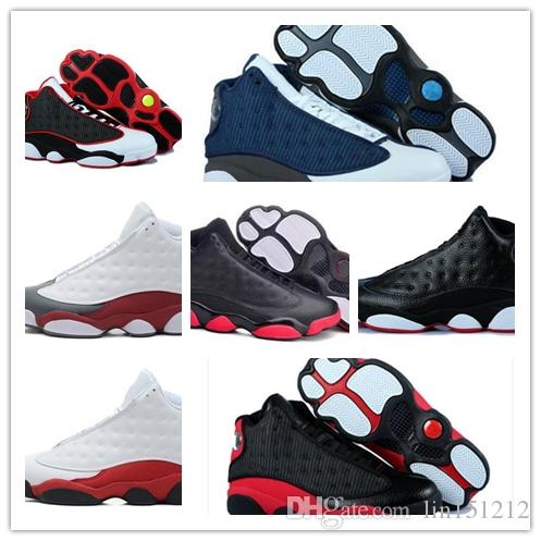732177fdd7b Cheap 2018 Shoes 13 XIII 13s Men Basketball Shoes Women Bred Black Brown  Flints Grey Sports High Quality Sneakers Size5.5 13 Shoes Brands Basketball  Shoes ...