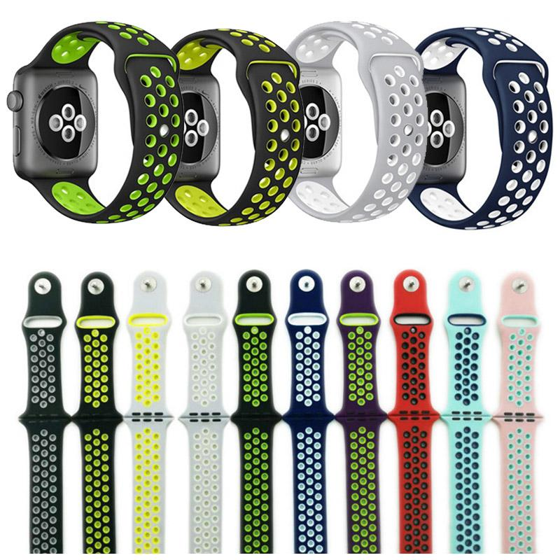 Tracker Sport Band Wearable Devices Silicone Band 42mm 38mm