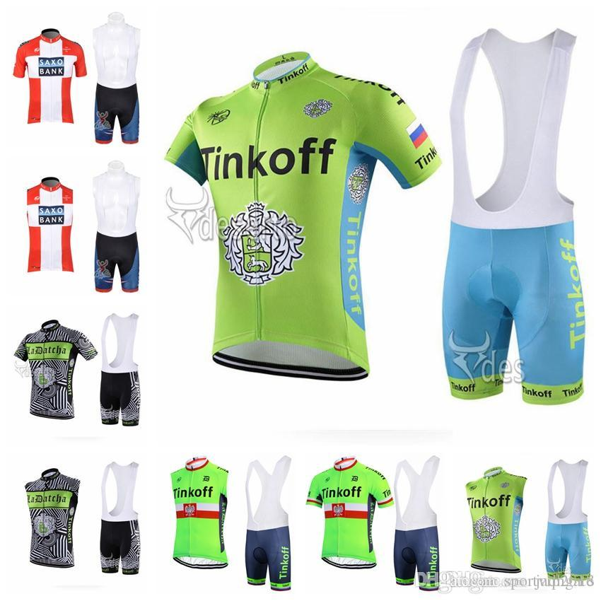 b1962bdc10c SAXO BANK TINKOFF Summer Men Cycling Jersey Set Short Sleeve MTB Rider Wear  Bicycle Clothes Cycling Gear High Quality Bike Sportswear F60504 Cycle  Clothes ...