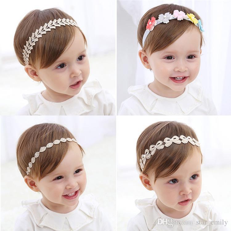 Compre Popular Cabelo Flor Headpieces Do Bebê Crianças Cabeça Peças Acessórios  Meninas Headband Banda De Cabelo Coreano Fascinator Chapéus De Casamento ... 6ff96100c7d4