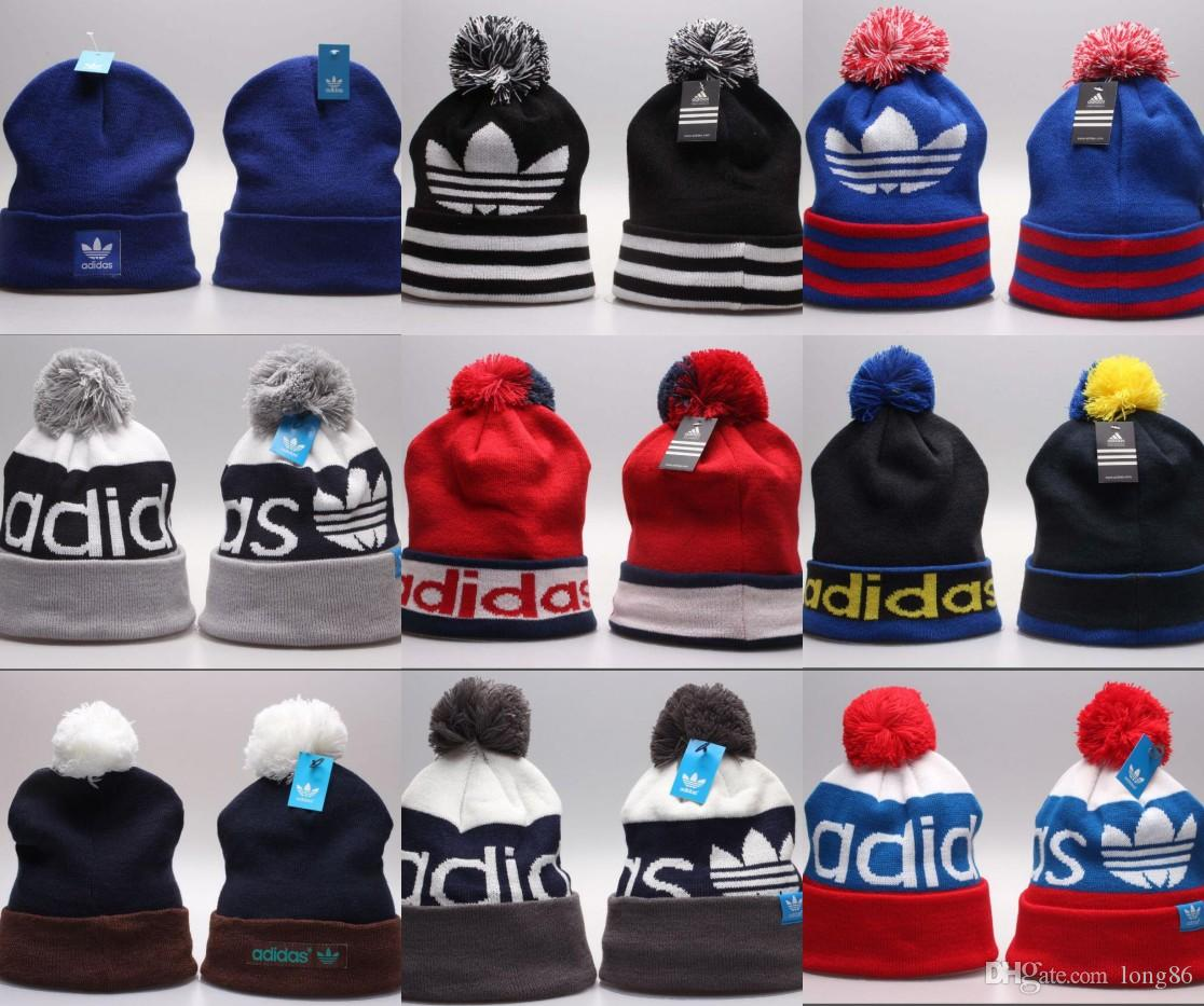 2019 Wholesale Beanie Hats for Men Women Knitted Fashion Caps Sport ... e4f8857ff462