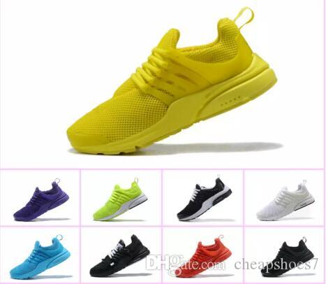 TOP Prestos 5 Running Men Women Girl Kids Shoes For Cheap Presto Air Ultra  BR QS Yellow Black White Essential Basketball Jogging Sneakers Boy Tennis  Shoes ... 27d32ff7f6