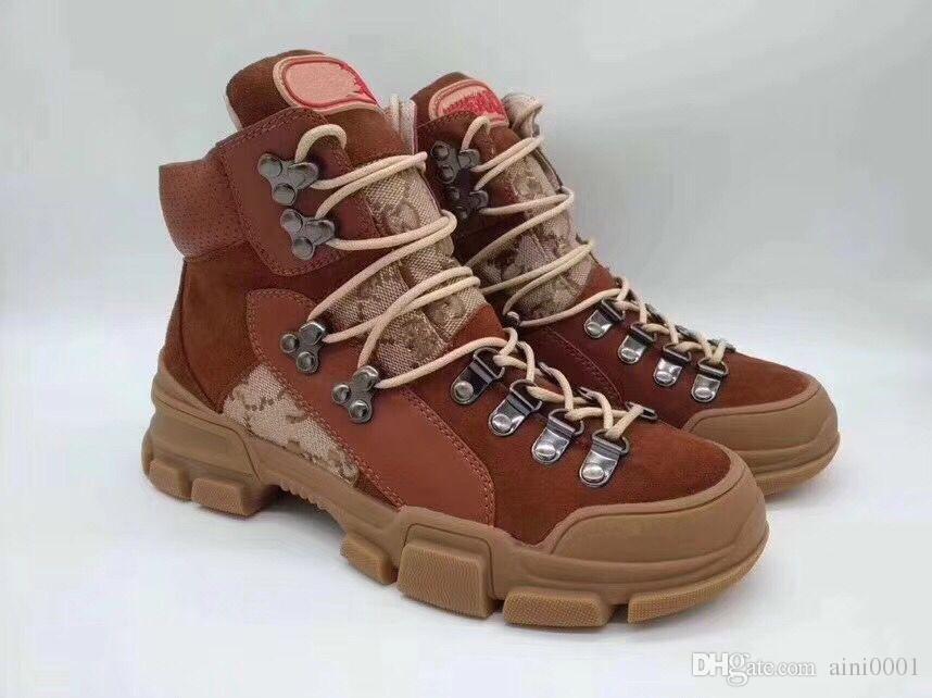 official photos 0782f bb3ac Sneakers high-top di Flashtrek Unisex Uomo Stivaletti alla caviglia da  trekking Scarponi militari da trekking Scarpe da donna robuste Martin Boots  ...