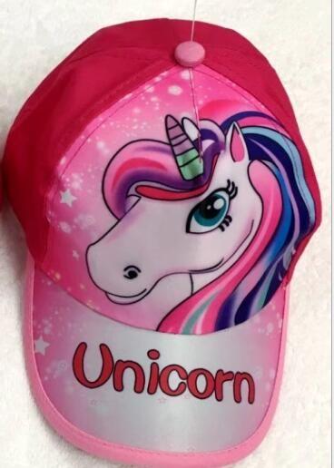 c48d31754 5pcs cartoon mix boy girl Fashion Sun Hat Cartoon unicorn Casual Cosplay  Baseball Cap gifts T1
